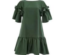 Knielanges Kleid mit Schleifen
