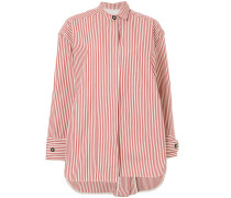 boxy fit striped shirt