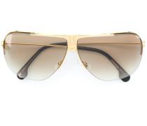 Pilotenbrille mit breitem Steg