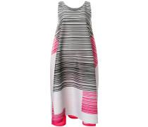 asymmetric multi-stripe dress
