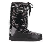 Snow-Boots mit Pailletten