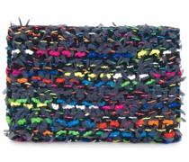 Tweed-Kartenetui mit Muster