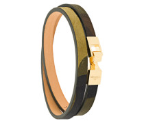 18kt vergoldetes Wickelarmband