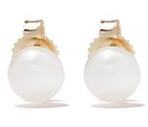 14kt Goldohrstecker mit Perle