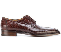 crocodile oxford shoes