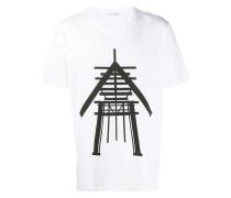 T-Shirt mit Skulptur