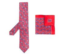 Set aus Krawatte und Tuch