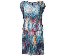 all-over print beach dress