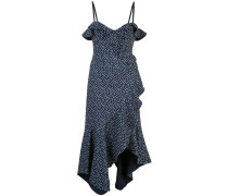 Kleid mit geflecktem Print
