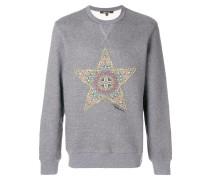 Sweatshirt mit verziertem Sternmotiv