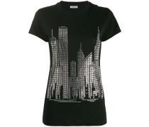 P.A.R.O.S.H. T-Shirt mit Skyline