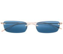 Sonnenbrille mit schmalem Rahmen