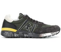 'Lander' Sneakers mit Wildledereinsätzen
