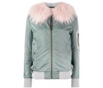 fur lining bomber jacket