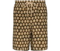 'Doxxi' Shorts mit Batik-Print