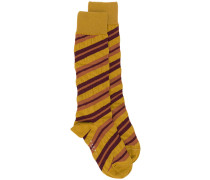 Gestreifte Socken