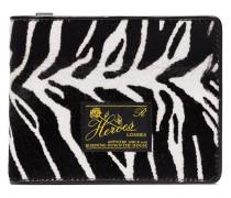 Portemonnaie mit Zebra-Print