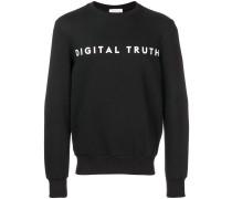 Sweatshirt mit aufgedrucktem Schriftzug