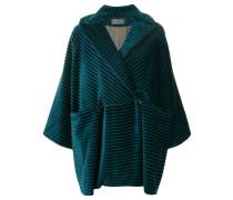 ribbed velvet coat