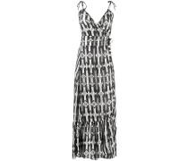 Bodenlangens Kleid mit Trägern