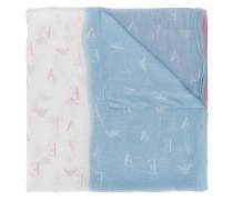 Bedruckter Schal mit Farbverlauf
