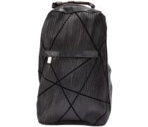 Rucksack aus Strukturleder