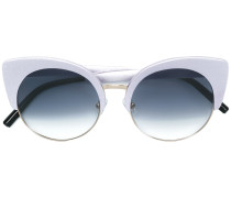 cat-eye tinted sunglasses