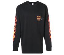 Sweatshirt mit Flammen-Print