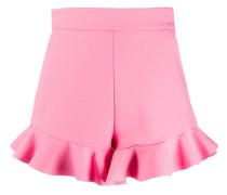 Shorts mit Rüschensaum