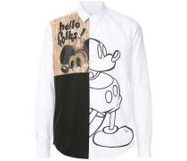 Hemd mit Micky-Print