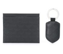 Portemonnaie mit Logo-Muster