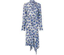 'Domi' Kleid mit Blumen-Print