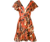 frill detail mini dress