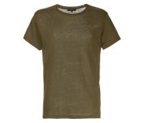 Klassisches Leinen-T-Shirt
