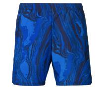 Karierte Bade-Shorts