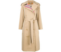 classic belted raincoat