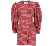 'Fleur' Jacquard-Kleid