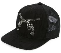 distressed crystal guns cap