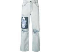 Jeans im Distresseed-Look