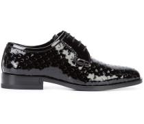 Derby-Schuhe aus Lackleder