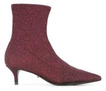 Sock-Boots im Glitter-Look