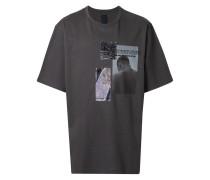 T-Shirt mit abstraktem Muster