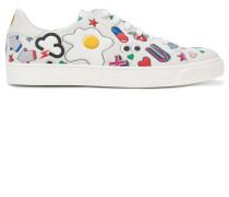 Sneakers mit Cartoon-Print
