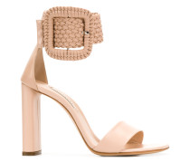Sandalen mit Oversized-Schnalle