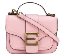 logo buckle shoulder bag