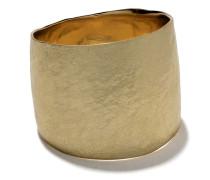 Gehämmerter 18kt Goldring
