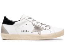 'Superstar' Sneakers in Distressed-Optik