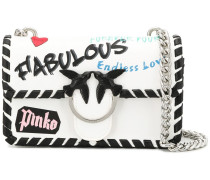 Mini 'Love Fabulous' Schultertasche