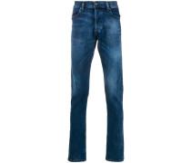 Halbhohe 'Tepphar-X' Skinny-Jeans