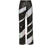 Hose mit Hologramm-Streifen